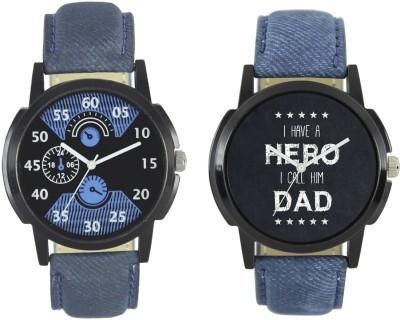 Shivam Retail New Fashion 002 007 Branded Leather Analog Watch   For Boys Shivam Retail Wrist Watches