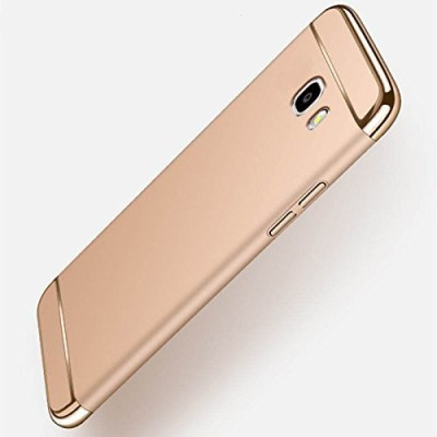 Novo Style Back Cover for Samsung Galaxy J7 Max(Gold, Metal, Plastic)