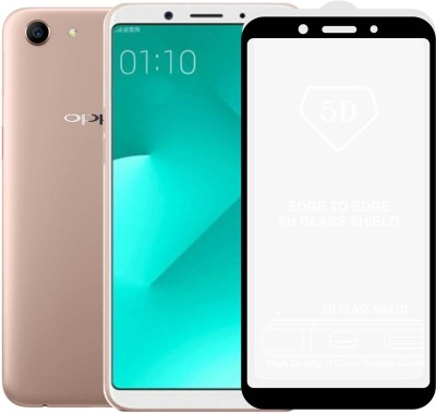 Case Creation Edge To Edge Tempered Glass for Oppo A79 2018(Pack of 1)