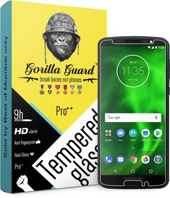 Gorilla guard Screen Guard for Motorola Moto G6 Plus(Pack of 1)