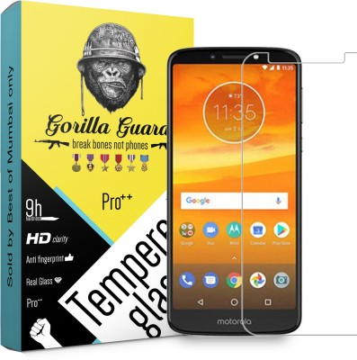 Gorilla guard Screen Guard for Motorola Moto E5 Plus(Pack of 1)