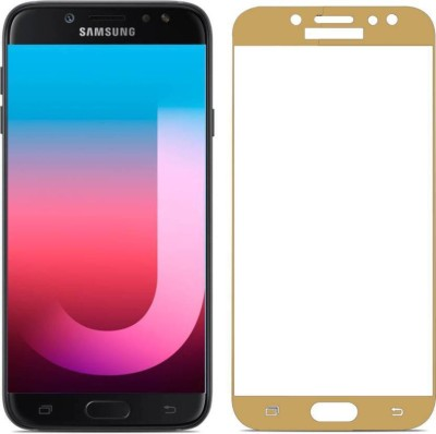 TIGERIFY Tempered Glass Guard for Samsung Galaxy J7 Pro (ORIGINAL 5D QUALITY) FULL GLUE GUM 9H GLASS SCREEN PROTECTOR GOLD(Pack of 1)