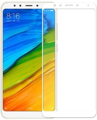 TIGERIFY Tempered Glass Guard for Xiaomi Redmi Note 5 (ORIGINAL 5D QUALITY) FULL GLUE GUM 9H GLASS SCREEN PROTECTOR WHITE(Pack of 1)