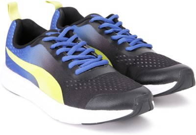 Puma Radiance IDP Turkish Sea-Nrgy Yellow Running Shoes For Women(Blue, Black) at flipkart