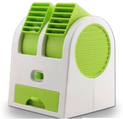 Sukot Small Mini USB Fragrance Air Conditioner Cooling Fan Cool Air Conditioner Fan USB Fan Multicolor