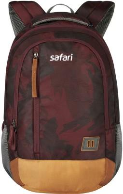 Safari WARFARE 19 SB WINE LAPTOP BACKPACK 32.5 L Laptop Backpack(Multicolor)