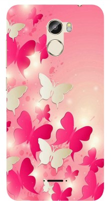 Coolcase Back Cover for Gionee X1(Multicolor, Flexible Case)