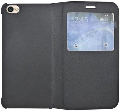 COVERNEW Flip Cover for Mi Redmi Y1 Lite Black