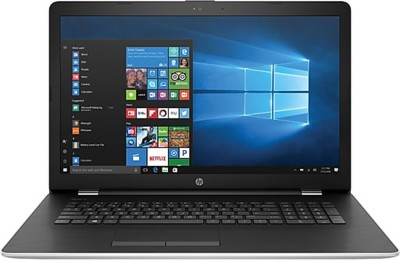 HP Notebook Core i3 7th Gen - (8 GB/1 TB HDD/Windows 10 Home) BS061ST Laptop(17.3 inch, SIlver)