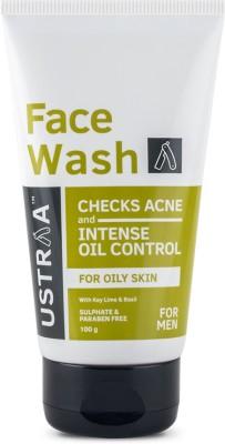 Ustraa Oily Skin (Checks Acne & Oil Control) 100gm Face Wash(100 g)