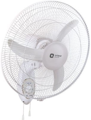Orient Electric ELECTRIC WALL 48 450 MM 450 mm 3 Blade Wall Fan(CRYSTAL WHITE, Pack of 1)