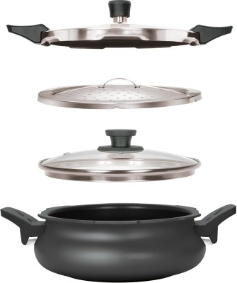 Pigeon 5 L Pressure Cooker with Induction Bottom(Hard Anodized) Flipkart