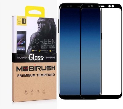 Mobirush Tempered Glass Guard for Infinix Hot S3(Pack of 1)