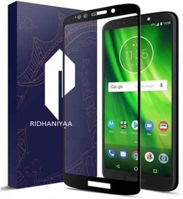 Ridhaniyaa Tempered Glass Guard for Motorola Moto G6 Play(Pack of 1)