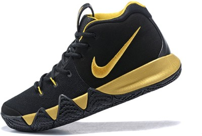 333bc091ccdd 44% OFF on the nike Kyrie 4 Limited Edition Basketball Shoes For Men(Black)  on Flipkart
