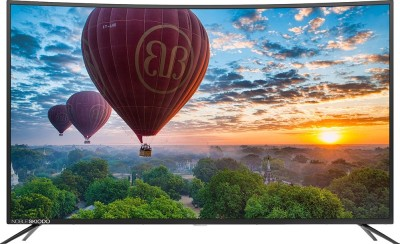 Noble Skiodo CUV55 140 cm (55 inch) Ultra HD (4K) Curved LED Smart TV(NB55CUV01)