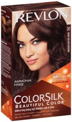 Revlon Colorsilk Beautiful  Hair Color(No.- 37 Dark Golden Brown) Flipkart