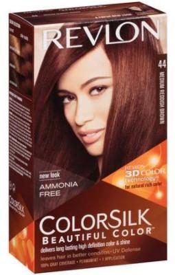 Revlon Colorsilk Beautiful  Hair Color(No.- 44 Medium Reddish Brown) Flipkart