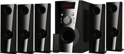 KRISONS Jambox Bluetooth Home Theatre(Black, 5.1 Channel)