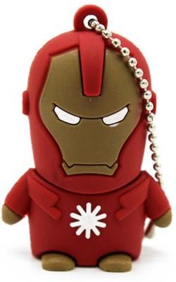 Pankreeti Iron Man 32  GB Pen Drive Red Pankreeti Pen Drives