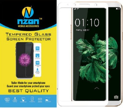 "nzon Edge To Edge Tempered Glass for ""Highly durable and scratch resistant/chip resistant, this strong 9H (hardness level) protector will warantee your cell phone the best protection against drops, bumps, scratches and normal wear and tear. Get all the protection without any bulk - nzon™ Glass prote"