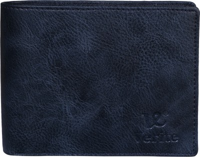 K London Men Tan, Blue, Black Artificial Leather Wallet(6 Card Slots)