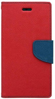 Gohaps Flip Cover for Oppo A83 Red