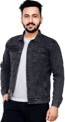 Ico Blue Star Full Sleeve Solid Men's Denim Jacket