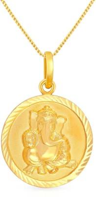 Malabar Gold and Diamonds PDCOVM0011 22kt Yellow Gold Pendant