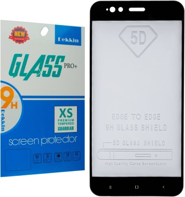 Dekkin Edge To Edge Tempered Glass for Mi A1(Pack of 1)