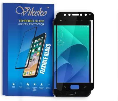 Vikeko Edge To Edge Tempered Glass for Asus Zenfone 4 Selfie(Pack of 1)
