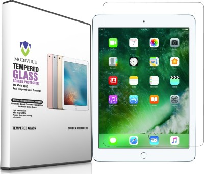 MOBIVIILE Tempered Glass Guard for Apple iPad 6th Gen 9.7 inch(Pack of 1)