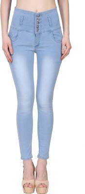 Manash Fashion Slim Women Light Blue Jeans