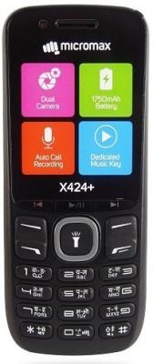 Micromax X424+(Black)