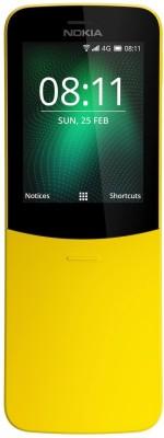Nokia 8110 (Yellow, 4 GB)(512 MB RAM)