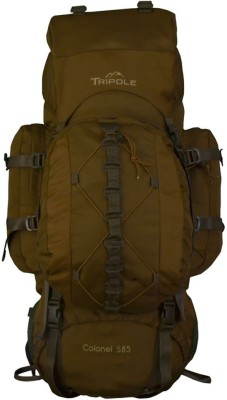 Tripole Colonel (With Detachable Day Pack) 85 Ltr Rucksack  - 85(Brown)