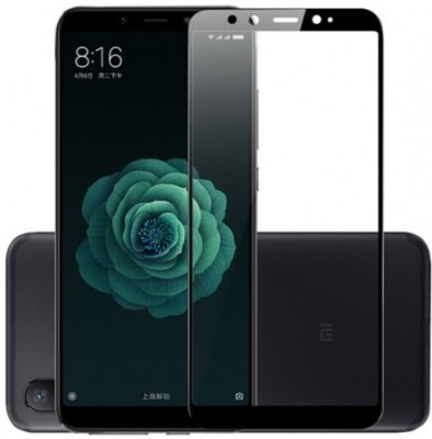 MOBIVIILE Edge To Edge Tempered Glass for Mi Mix 2(Pack of 1)