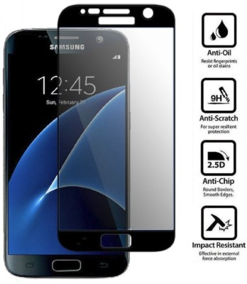 Express Buy Edge To Edge Tempered Glass for Samsung Galaxy S7 (5D Full Glue Tempered Glass)(Pack of 1)