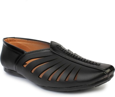 Do Bhai Mocassin For Men(Black) Flipkart