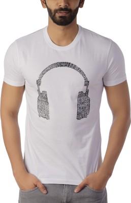 Lyrical Life Graphic Print Men Round Neck White T-Shirt Flipkart