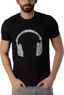 Lyrical Life Graphic Print Men Round Neck Black T-Shirt Flipkart