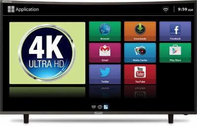 Mitashi Curved 123.19cm (48.5 inch) Ultra HD (4K) Curved LED Smart TV(MiCE050v34 4KS)