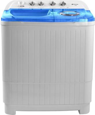 Micromax 7.5 kg Semi Automatic Top Load Washing Machine White, Blue(MWMSA754TDRS1BL) (Micromax)  Buy Online