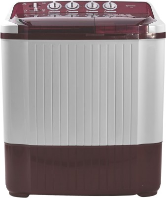 Micromax 7.5 kg Semi Automatic Top Load Washing Machine White, Maroon(MWMSA755TVRS1BR) (Micromax)  Buy Online