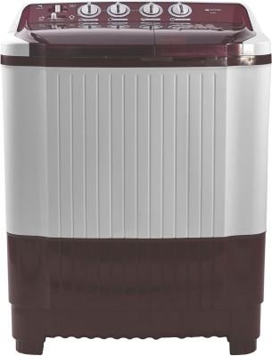 Micromax 8.5 kg Semi Automatic Top Load Washing Machine White, Maroon(MWMSA855TVRS1BR) (Micromax)  Buy Online