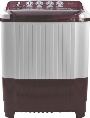 Micromax 8.2 kg Semi Automatic Top Load Washing Machine White, Maroon(MWMSA825TVRS1BR) (Micromax)  Buy Online