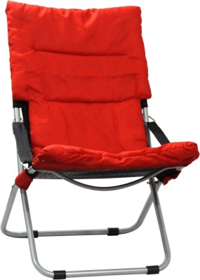 KAAZZ premium living room chair Fabric Living Room Chair(Finish Color - RED)