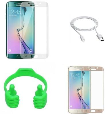 Zootkart Screen Protector Accessory Combo for Samsung Galaxy S6 Edge(Multicolor)