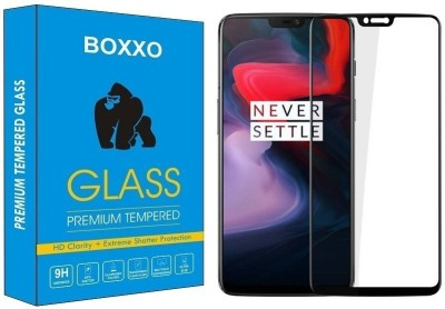 Boxxo Tempered Glass Guard for OnePlus 6(Pack of 1)