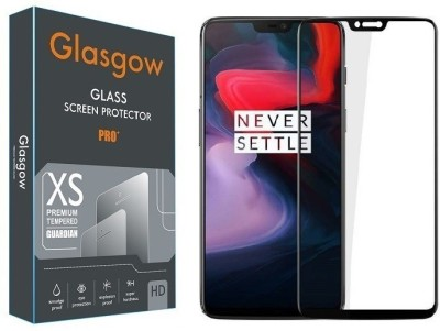 Glasgow Tempered Glass Guard for OnePlus 6(Pack of 1)